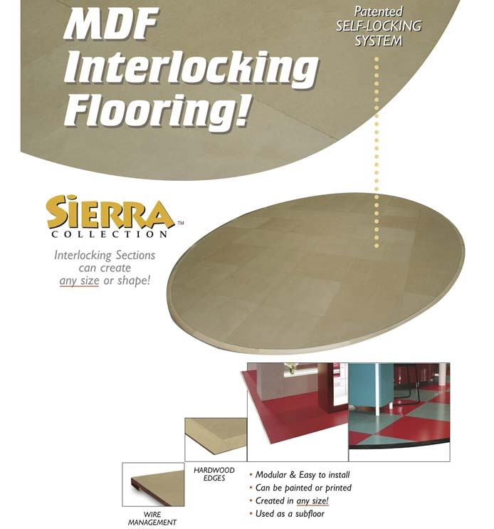 MDF Interlocking flooring