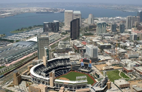 San Diego Convention Center and Downtown