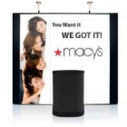 9' Iconic Budget Straight Wall Pop Up Displays