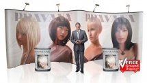 20' Iconic Budget Pop Up Displays