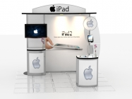 Standard Trade Show Rental Displays - Turnkey not included (Click to view All)