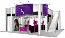 Double Deck Turnkey Rental Displays (Click to view All)