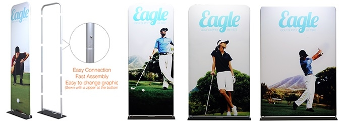 Iconic TensionFab Banner Stands