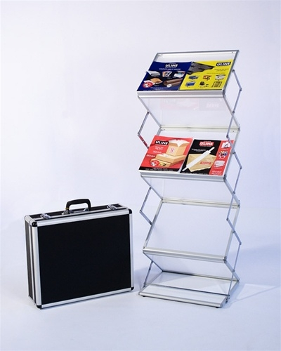 Iconic Frost Double Literature Stands