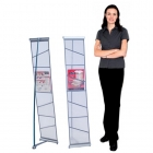 Iconic Mesh Single Literature Stands