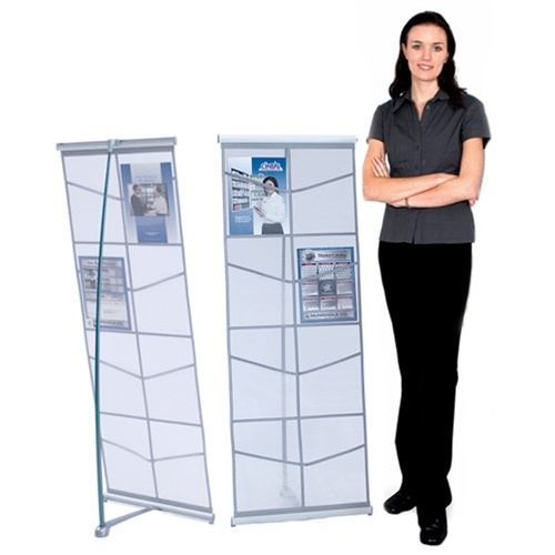 Iconic Mesh Double Literature Stands