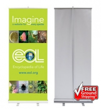 Iconic Budget Retractable Banner Stands