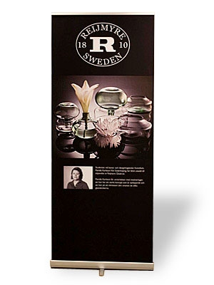 MediaScreen 1 Retractable Banner Stands