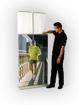 MediaScreen 2 Retractable Banner Stands - Double Sided