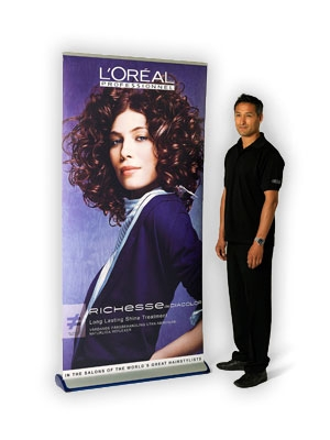 Quickscreen 3 Retractable Banner Stands - Interchangeble Graphics