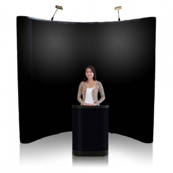 8' Iconic Budget Pop Up Display – Package A