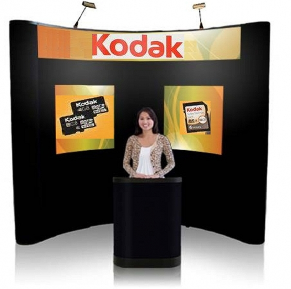8' Iconic Budget Pop Up Display – Package B