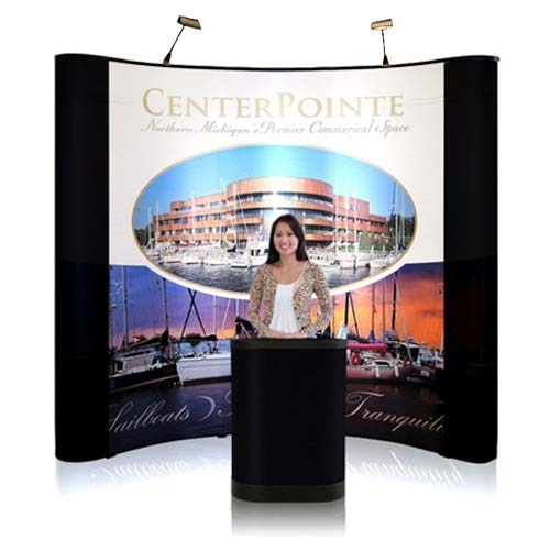 8' Iconic Budget Pop Up Display – Package C