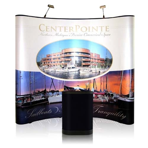 8' Iconic Budget Pop Up Display – Package D