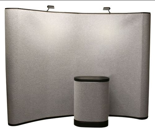 10' Iconic Budget Pop Up Display – Package A