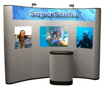 10' Iconic Budget Pop Up Display – Package B