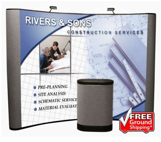 10' Iconic Budget Pop Up Display – Package C