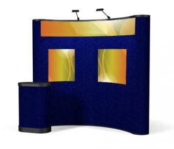8' Iconic Classic Pop Up Display – Package B