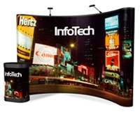 10' Iconic Classic Pop Up Display