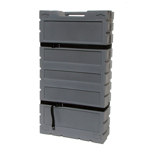 TELESCOPING FLAT PACKING CASE