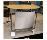 Iconic Truss Large Oval Designer Counter