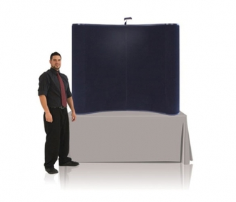 6' Iconic Budget Table Top Pop Up Display – Package A