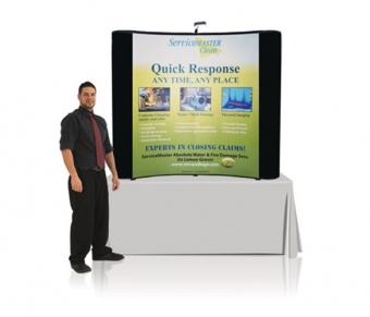 6' Iconic Budget Table Top Pop Up Display – Package C