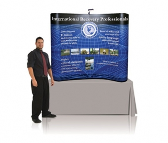 6' Iconic Budget Table Top Pop Up Display – Package D