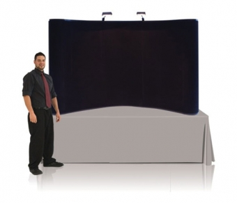 8' Iconic Budget Table Top Pop Up Display – Package A