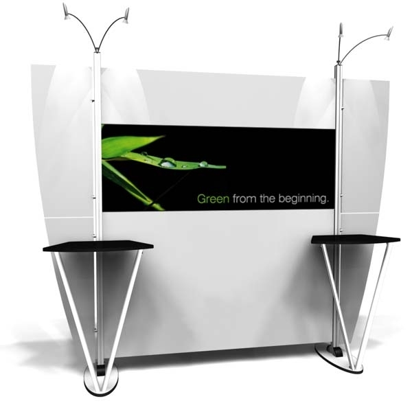 10' Modular Display Rental-Package C