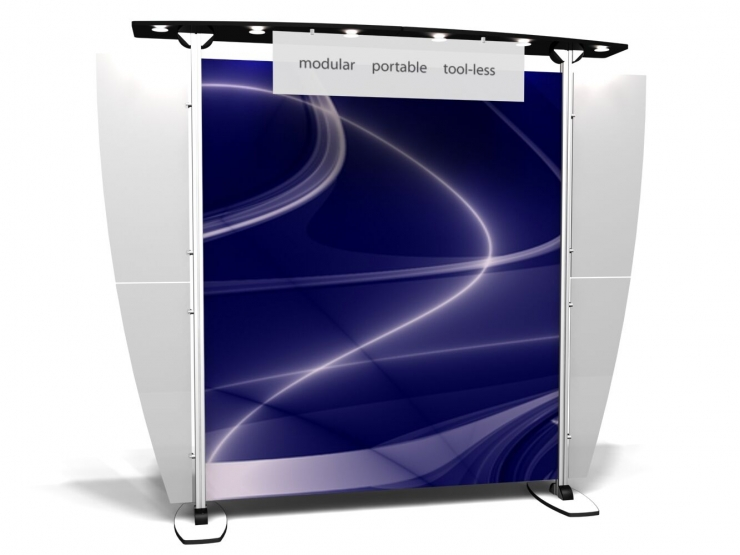 10' Modular Display Rental-Package D