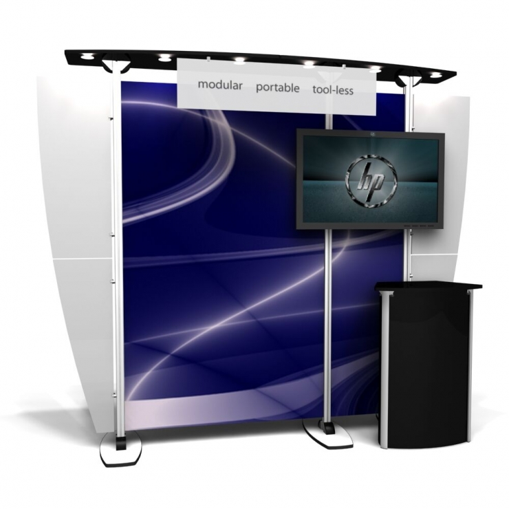 10' Modular Display Rental-Package G