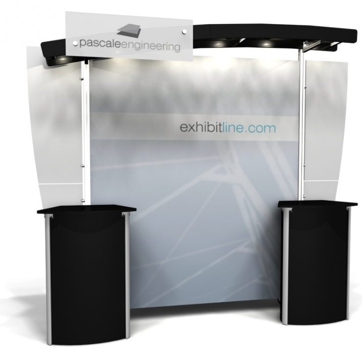 10' Modular Display Rental-Package N