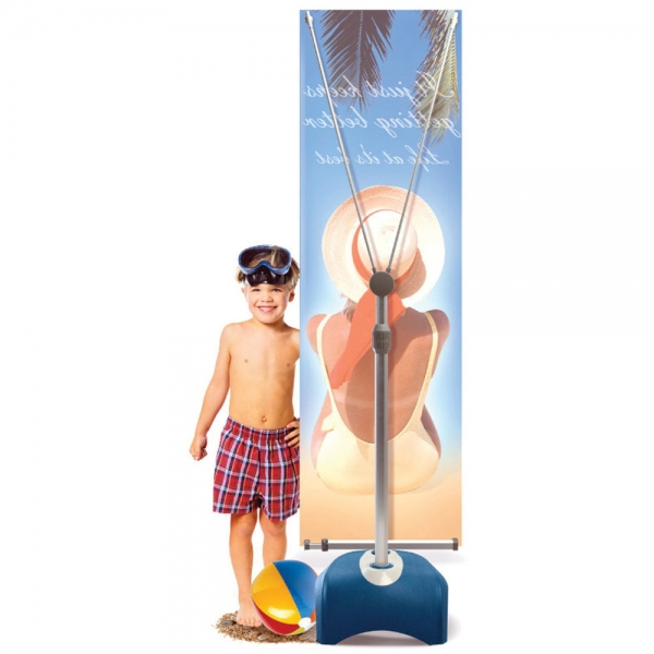 Iconic Outdoor Banner Stand