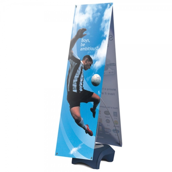 Iconic Outdoor banner stand - double sided