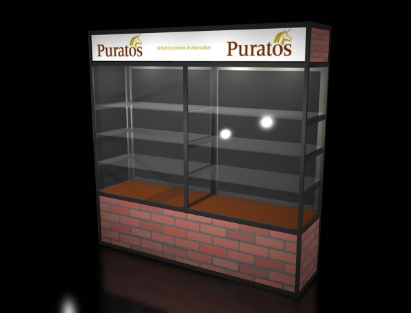 Product Showcase Booth Display