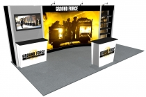 10x20 Trade Show Display Rental | Santa Fe