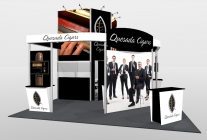20x20 Turnkey Trade Show Booth Rental | VISTA