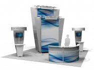 20' x 20' Iconic Classic Modular Display - Package A