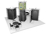 20x20 Turnkey Trade Show Booth Rental | ALAMEDA