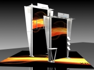 20' x 20' Iconic Premium Modular Exhibit - Package B