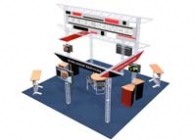20x20 Turnkey Trade Show Display Rental | COVINA