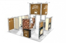 Trade Show Truss | Big Sur 20x20 Truss Booth