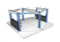 20x20 Turnkey Trade Show Booth Rental | DIAMOND