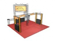 20x20 Turnkey Trade Show Display Rental | EMERALD