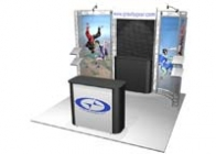 10' x 10' Turnkey Rental Display - BODEGA