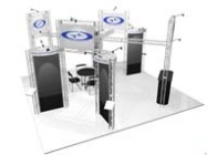 20x20 Turnkey Trade Show Booth Rental | FRANCISCAN