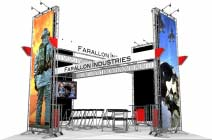 20x20 Turnkey Trade Show Booth Rental | HOLLYWOOD