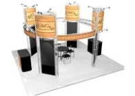 20x20 Turnkey Trade Show Booth Rental | PRESIDIO