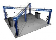 20x20 Turnkey Trade Show Display Rental | QUARTZ